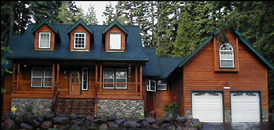 Pro Craft Painting Of Lake Almanor The Wood Home Staining