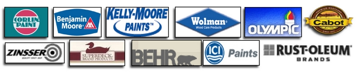 Paint company logos